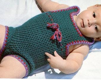 Crochet Baby Onesie Pattern