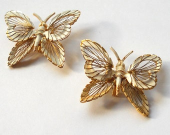Monet Jewelry Vintage Butterfly Pins