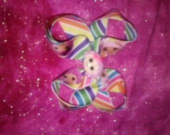Lala loopsy inspired twisted boutique bow