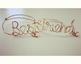 Best Friends bracelets (Includes one of each)