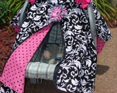 Baby Car Seat Cover- 2 in 1, also makes Nursing Cover