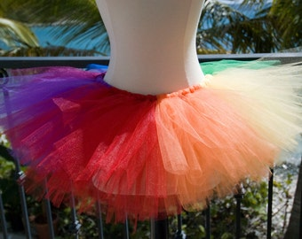 Adult Tutu - Rainbow Too