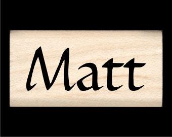 Name Stamp - Matt