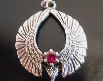 Eagle Pendant with stone