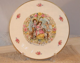 Vintage Royal Doulton Valentine Collectors Wall Plate 1978