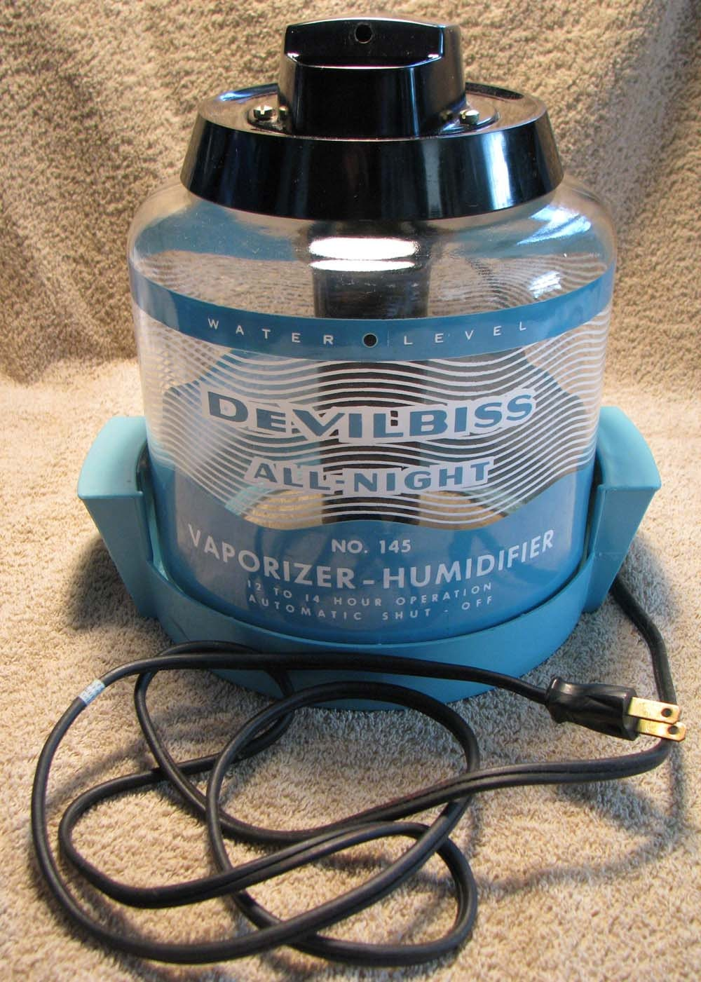 Working Vintage Devilbiss Vaporizer Humidifier Model 145 From