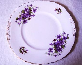 Vintage Serving Plate Colclough Ridgway Potteries Violets