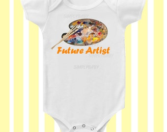Future Artist Baby Bodysuit by Simply Baby