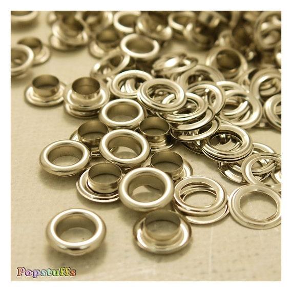 8mm inner diameter metal eyelets grommets with washers for Liner diametre 4 50