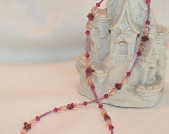 Shades of Pink Necklace (1025)