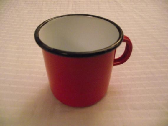 l 39 mail mail vintage rouge mug mug tasse. Black Bedroom Furniture Sets. Home Design Ideas