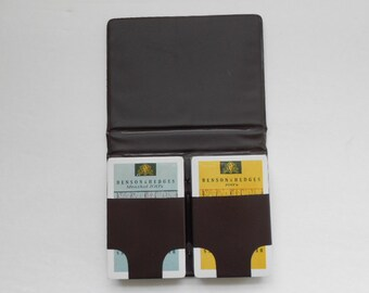 Vintage Collectible Benson and Hedges Playing Cards in Case