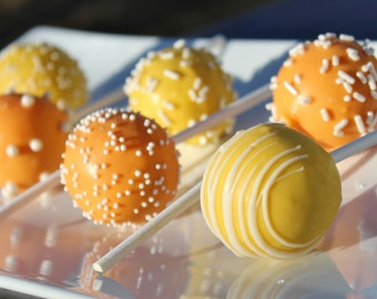 Sunshine Cake Pops