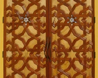 Synagogue Doors Islamic Design