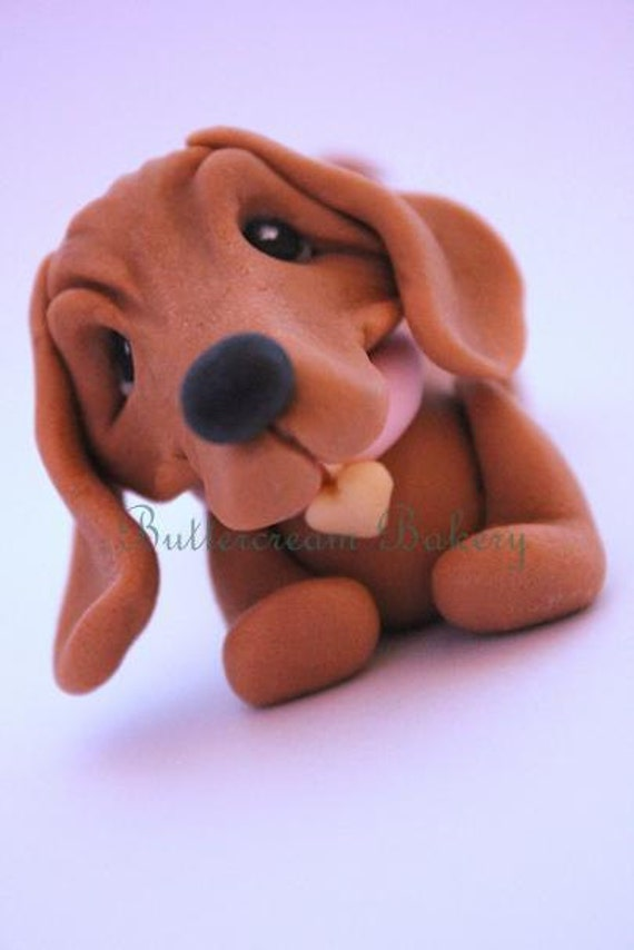 How To Make A Sausage Dog Out Of Fondant