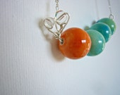 The Very Hungry Caterpillar Inspired Necklace