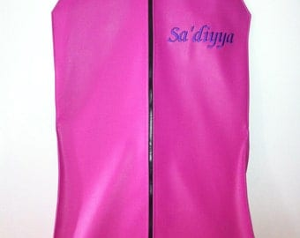 Custom Made-To-Order Monogramed Belly Dancing Costume Garment Bags