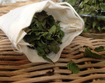 Organic Spearmint Satchels