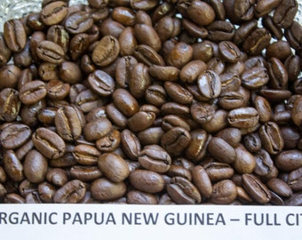 Freshly Roasted Papua New Guinea Single Origin  Coffee  8 oz
