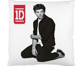 New One Direction Louis Tomlinson PERSONALIZED Square Pillow Case Cover  Best Gift
