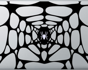 Spider Web Decal for Macbooks and ipads