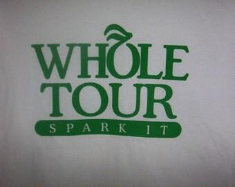 """Phish lot shirt """" Whole Tour Spark it"""".  size  large Grateful dead lot style shirt"""