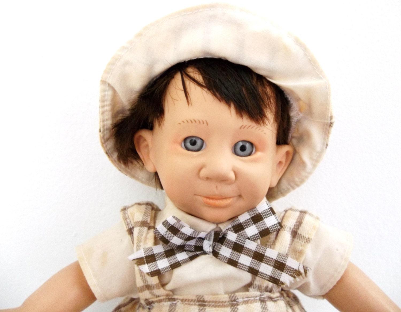 Creepy Ugly Boy Doll Realistic Expression Doll By