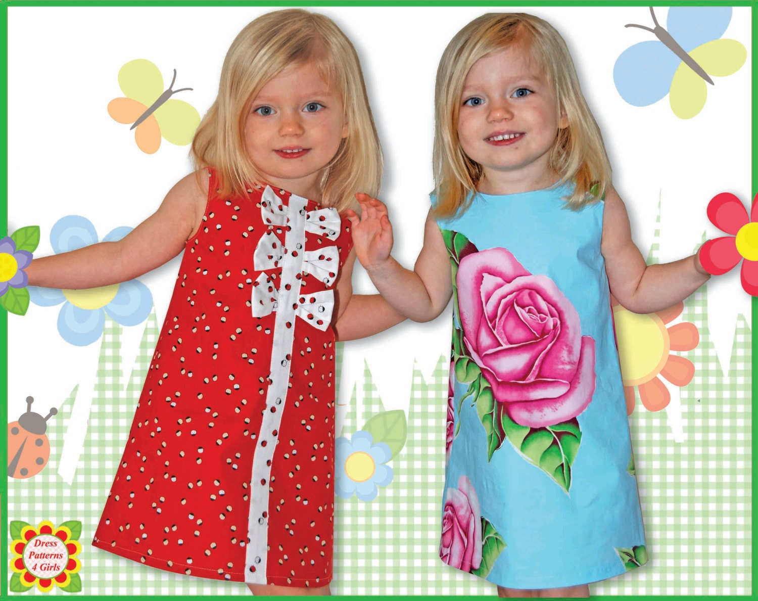 Adele girls dress patterns free mother daughter apron pattern this is a digital file jeuxipadfo Choice Image