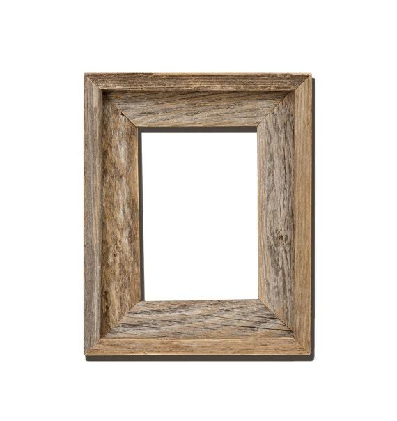 Rustic Wood Frame 4x6 rustic barn wood open