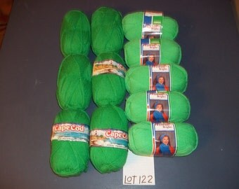 PRICE CUT Caron Cape Cod Caron Wintuk 4 Mixed Lot of 11 Skeins