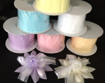 Star Pull Bow Ribbon For Jordan Almonds Candy Decorations Wedding Favors