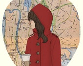 Little Red Riding Hood in Manhattan (The Big Apple)