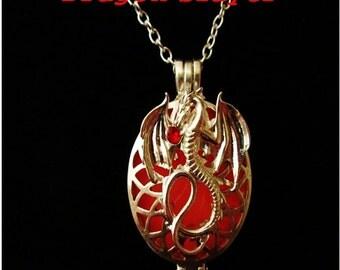The Dragon Slayer Glowing Pendant