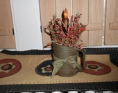 COUNTRY CANDLE ARRANGEMENT