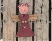 Charmed Angel for the 4th of July through Christmas Wood Craft Pattern