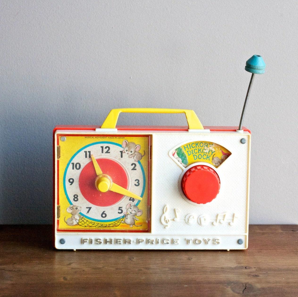 Fisher Price Toys Radio // Children's Toy Radio // Hickory