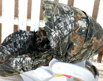 Mossy Oak Camo Car seat cover and hood cover