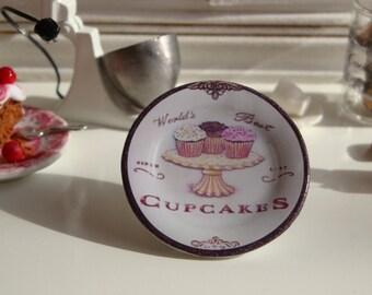 Bakery Shop Dollhouse Miniature Plate