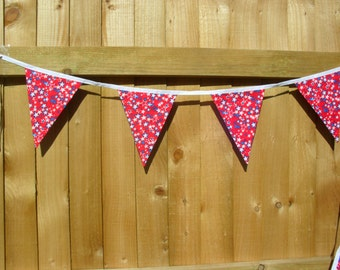 Red, White and Blue Bunting / banner. Star bunting / banner. Item No. LDC0138