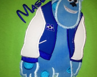 Monsters University personalized shirt/Sully