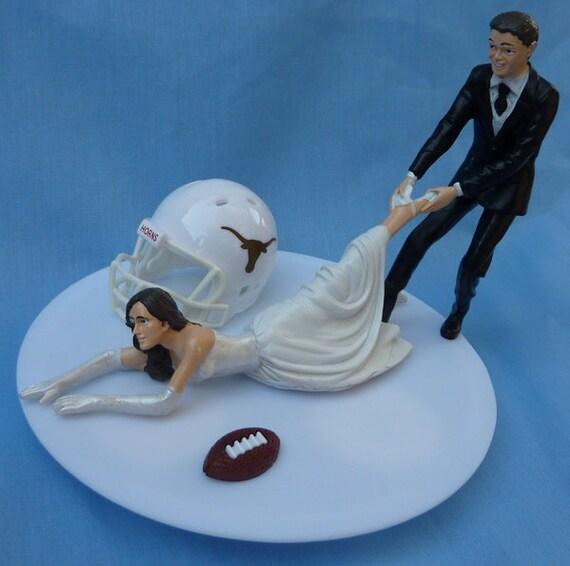 Texas Longhorn Wedding Cake