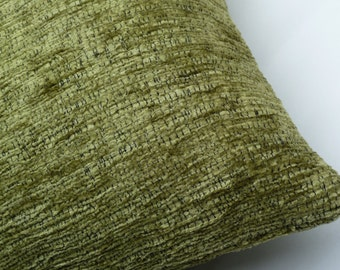 "Donghia fabrics ""Silkwood"" chenille Mid-Century Modern look - accent Pillow -  17"" X 17"""