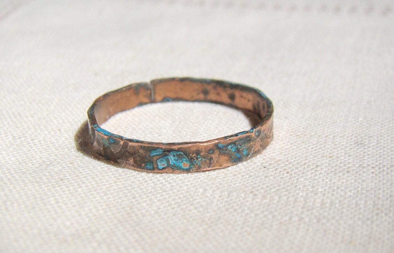 unique mens ring mens wedding band men copper jewelry mans