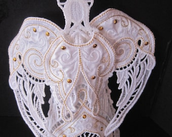 3D Angel in lace