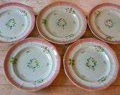 vintage Adams Calyx Ware plates