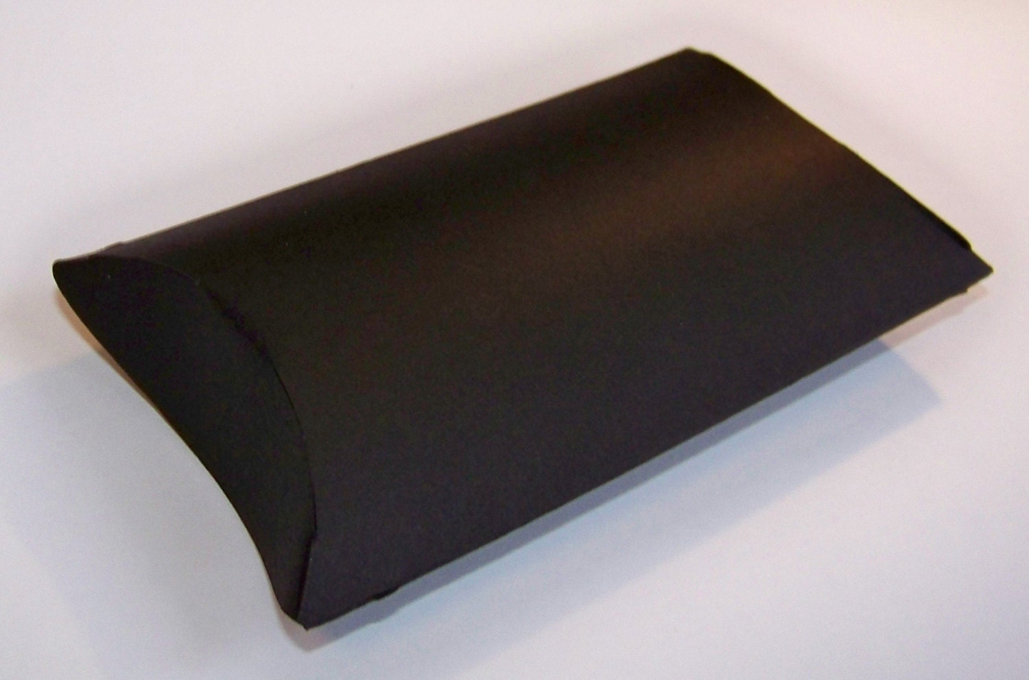 10 mini treat sized black pillow boxes from for Black box container studios