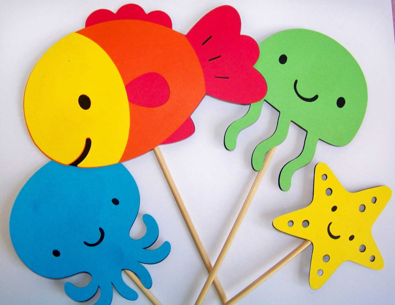 Four piece DIY Under the Sea centerpiece or by ...