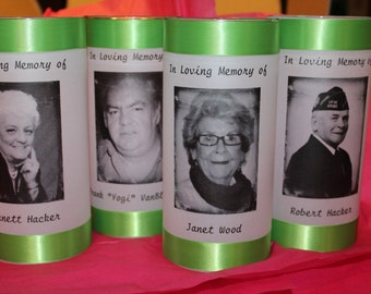 Wedding Memorial Candle, Tribute candle, Funeral candle