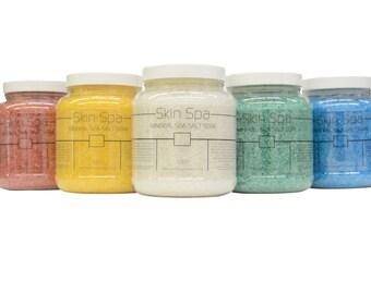 Skin Spa Mineral Sea Salt Soak - 64oz
