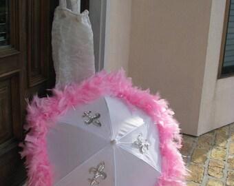 Bridemaids second line umbrella.